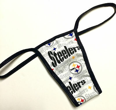 NFL PITTSBURGH STEELERS NEW PRINT PANTY/THONG XS/SML CHECK OUT MY EBAY STORE - Pittsburgh Steelers Store