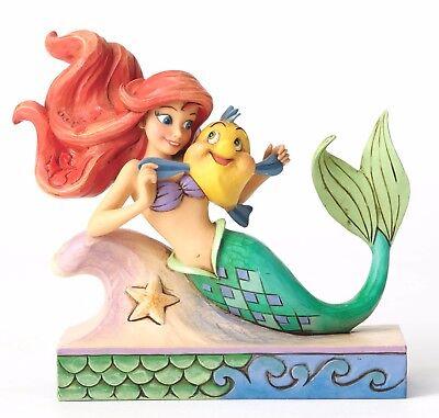 Disney Traditionen Spaß und Freunde Ariel mit Flunder Figur 13cm 4054274