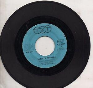 TONY-ARDEN-RINO-disco-45-giri-STAMPA-ITALIANA-Occhi-di-ragazza-Settembre