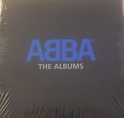 Abba The Albums 8 CD Box Set & Bonus Disc (Sealed) 2008 Remastered In Mini CDs