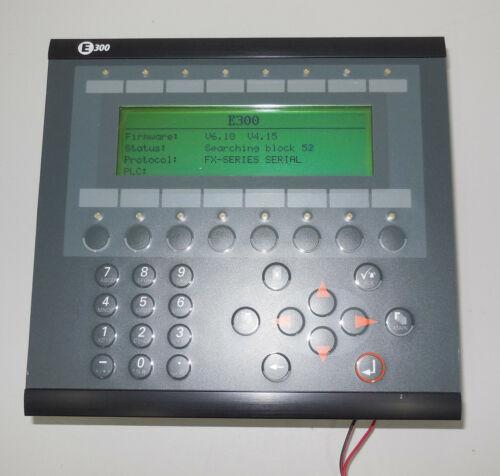 Beijer E300 type: 04380 F/W V6.10 V4.15 panel