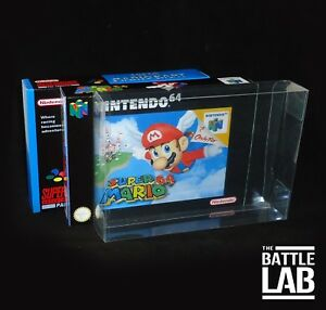 N64 / SNES Game Box Plastic Case Protectors ( pack of 5 )
