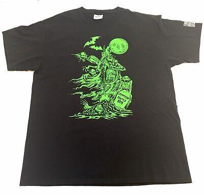 Crypticon Seattle 2015 Shirt Artist Nick Gucker Horror Film Halloween Ghost - Halloween Horror Filme