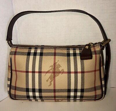 New BURBERRY Haymaker Nova Check Signature Small Tote/Shoulder-Hand Bag/Purse