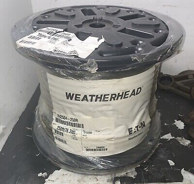 250ft Reel 14 5000psi Weatherhead Hydraulic Hose H42504-250r Coll-o-crimp New