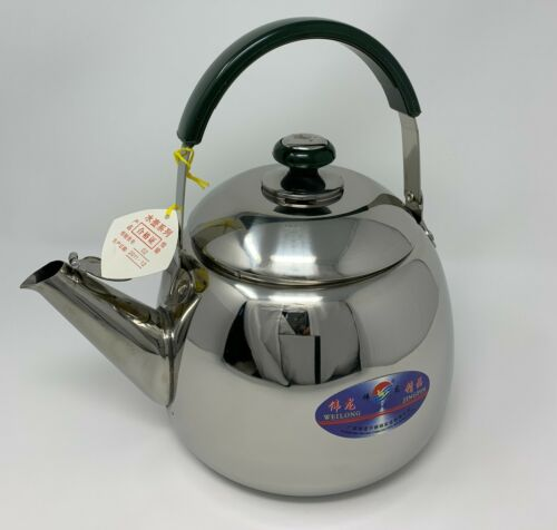 Millennium Stainless Steel Whistling Kettle 4.5L/4.6 qt Water Tea Stovetop Pot