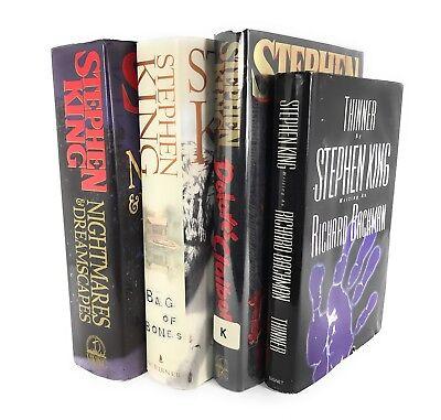 Stephen King Best Novels Nightmares & Dreamscapes Bag Of Bones & More