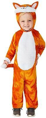 Katze Kostüm Kleinkinder Unisex Karneval Tierkostüm Overall Cat Fuchs Fox