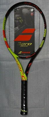 New Babolat Pure Aero La Decima French Open Tennis Racquet Nadal Racket 4 3/8