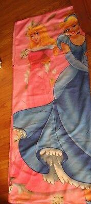 Disney Princess Sleeping Bag - Cinderella,  Belle,  Sleeping Beauty pink-   - Disney Princess Sleeping Bag