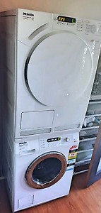 Current modelsl Miele washing machine and dryer+staking kit!!! Casula Liverpool Area Preview