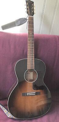 Sigma SIG LM-SG00 Golden Era Electro Acoustic Guitar w/ Fishman Preamp &Hardcase