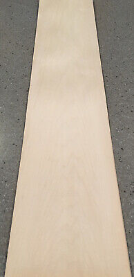 Maple Wood Veneer 5 Sheets 35 X 7.5 9 Sq Ft