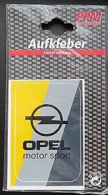 Aufkleber OPEL MOTORSPORT Logo Farben GSi OPC Sticker Kadett Astra Corsa Manta
