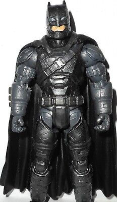 DC universe classic BATMAN armored suit v superman armor variant METALLIC CUSTOM - Batman V Superman Suit