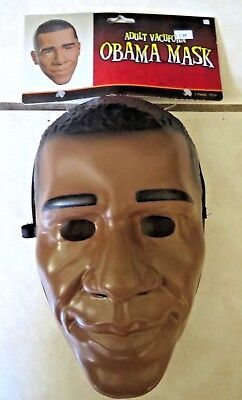 NWT Barack Obama Mask Funny Adult Costume By Disguise
