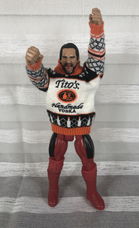 "Tito's Vodka Man Party Animal Tito's Sweater On 11.5"" Random Action Figure Vodka"