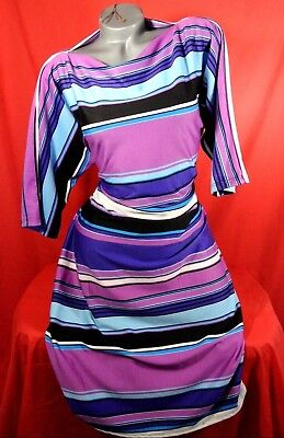 1X✿Striped~Work✿Party✿Cruise✿Cocktail~DRESS✿Plus~Size✿Pinup✿Rockabilly+Torrid~Bo