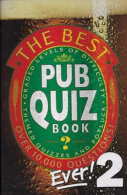 *THE BEST PUB QUIZ BOOK EVER! 2 - QUESTIONS SET BY THE PUZZLE HOUSE (Best Pub Quiz Questions Ever)