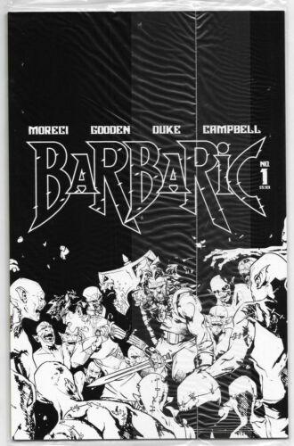 Barbaric #1 Cover D Polybag Variant Vault Comics