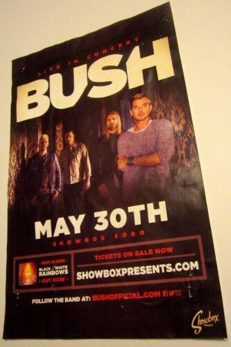 Bush Original Concert Show Poster