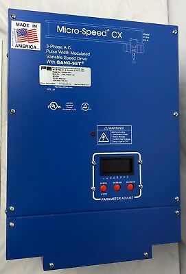 Micro-speed 3-phase A.c Pulse Width Modulated Variable Speed Hoist Drive-usa