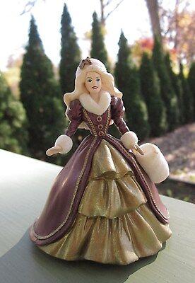HOLIDAY BARBIE Doll Vintage CHRISTMAS TREE ORNAMENT 1996 MATTEL HALLMARK CARDS