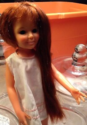 """Original Box 1969 Ideal 'Crissy' Doll with Growing Hair 18.5"""" Tall No 1051-2"""