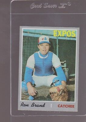 1970 TOPPS BASEBALL # 221 RON BRAND  NEAR/MINT OR