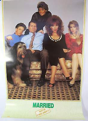 Married With Children Original 1980's Poster by OSP 8 out of 10 Condition BEAUTY
