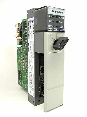 Allen Bradley Slc 500 504 Cpu 1747-l543 Ser C Frn 6 Excellent Condition