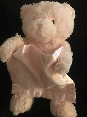 Baby GUND Pink Peek-a-Boo Animated Plush Bear, Moves And Talks. 11 1/2""
