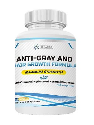 Anti-Gray and Hair Growth Formula Supplement (Hair Growth Pill)