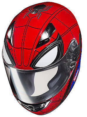HJC CS-R3 Marvel Spiderman Motorcycle Helmet MD Medium Spider Man Homecoming
