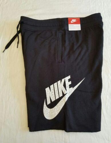 Men's NIKE shorts 100% COTTON NWT BLACK size L - Super Comfo