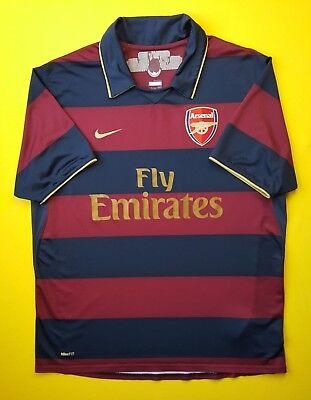 da21a2f41ba Arsenal third jersey LARGE 2007 2008 shirt soccer football Nike 4.5 5