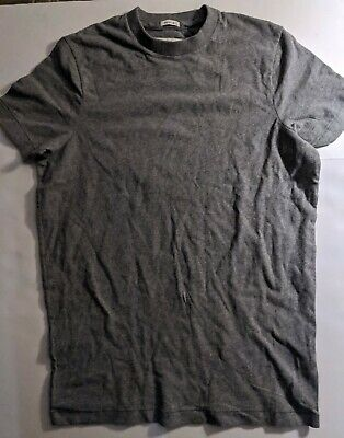 Abercrombie & Fitch Mens Super Soft Muscle T-Shirt New Small VTG HEATHER GREY