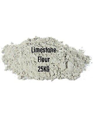 Limestone Flour  Horses Tortoise Reptiles Chicken Ducks Poultry 25KG BMFD DS