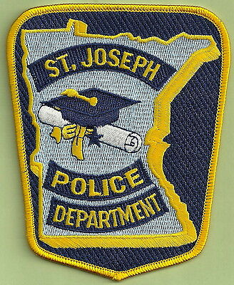 ST. JOSEPH MINNESOTA POLICE PATCH
