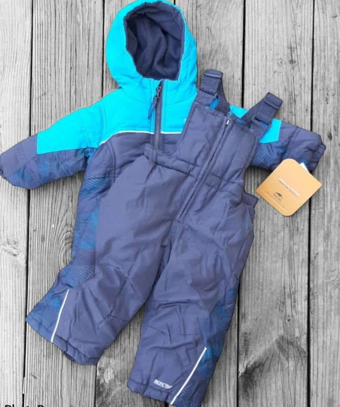 Pacific Trail - Boys 2pc Snowsuit (Bib Pants and Jacket Coat) 18 Months - NWT