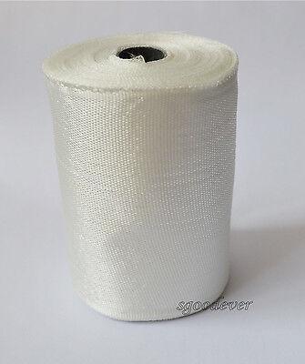 Fiberglass Cloth Tape E-glass Wide 100mm 30m Long Fiber Plain Weave