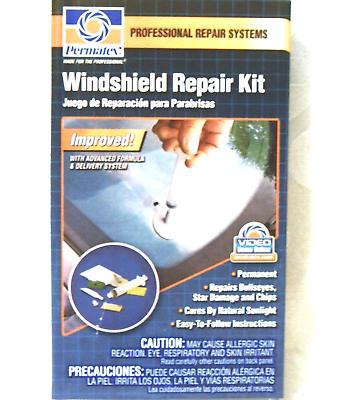 WindShield Repair Kit ~ Permatex Item # 09103 Professional & Permanent Fix NEW