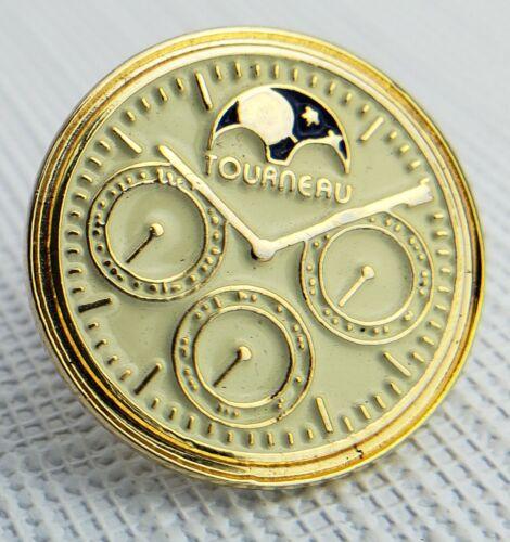 Tourneau ~ Lapel Pin ~ Chronograph Moonphase Watch