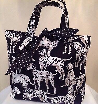 Dalmatian Dog Print Bag