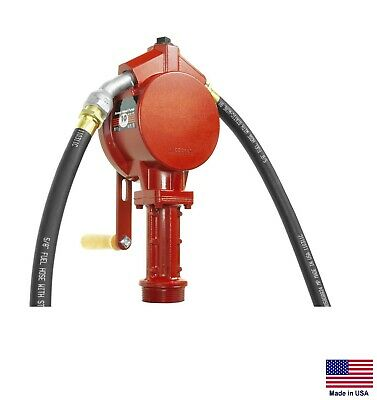 Fuel Transfer Pump For Gasoline Multiple Fuels - Rotary - Tank Or Drum Mount