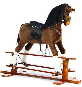 Wooden Rocking Horse Ebay