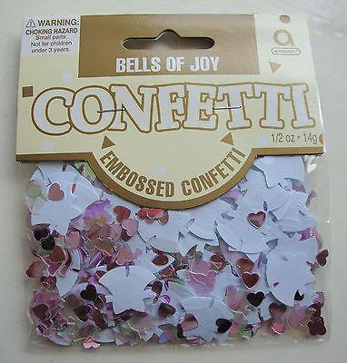 Campanas Boda de Alegría Confeti de Mesa Boda Confeti Decoración Mesa