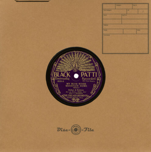 "Premium 78 rpm Disc-O-File Record Sleeves for 10"" Discs - 50 Quantity"