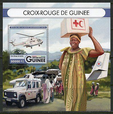 GUINEA  2017  RED CROSS OF GUINEA SOUVENIR SHEET MINT