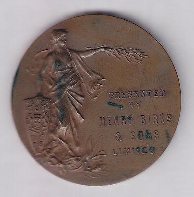 Henry Birks   Sons Lady Britannia Presentation Medal